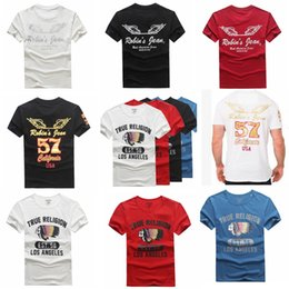 Wholesale Gradient Jeans Men - Wholesale New Robin T-shirt Mens Robin Jeans T-shirts Man T-shirt Robins Men Bottoming Robins Shirt T-Shirt Tops Puls Size 3XL