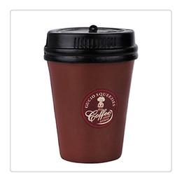 Wholesale Bun Coffee - High Quality Cute Kawaii Squishies Slow Rising Coffee Cup Squishy For Mobile Keychain Soft Squishies Jumbo Buns Phone Charms Free Shipping
