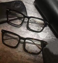 Hommes Chrome Tortoise Optical Eyewear Lunettes De Vue Cadre Argent Or Lunettes De Vue De Mode Neuf avec Boîte ? partir de fabricateur