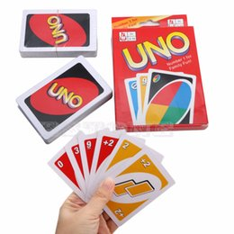 Wholesale fun child - Recreation Standard 108 Playing Fun Cards Uno Card Game Family Children Friend