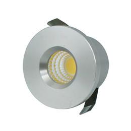 Wholesale Miniature Light Lamps - Wholesale- 5pcs Lot Mini COB 3W LED Downlight LED Cabinet Spot light Lamps Foyer living sitting recessed micro miniature spot down light