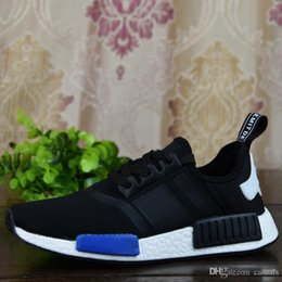 Wholesale Orange Shoes For Women Cheap - 2017 Wholesale Cheap NMD Runner Primeknit Men'S Running Shoes Fashion Running Sneakers for Sale Men Women Human Race Free Shipping With Box