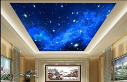 2019 soffitti stellati moda arredamento casa decorazione per camera da letto Star cielo soffitto soffitti a parete pittura soffitto dipinto sconti soffitti stellati