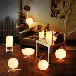 Wholesale Iron Beds Wholesale - New Modern Brief LED Glass globe floor light led table lamps bedside lamp living room light fixture LED night lights modern floor lamp