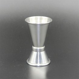 Wholesale Ends 15 - New Arrive 15 - 30ml 2-End Jigger Shot Measure Cup Cocktail Drink Wine Shaker Stainless Bar