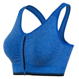 Wholesale Girl Wear Bra - Girl sportswear Brassiere Fitness Tops Fitness Running Sportswear Yoga Wear Sports Non-Rivet Bra Quick Sportswear Fitness bra