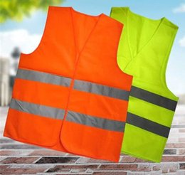 Wholesale Wholesale Reflective Safety Vests - High Visibility Working Safety Construction Vest Warning Reflective traffic working Vest Green Reflective LLFA
