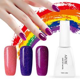 Wholesale Soak Off Liquid - Wholesale-Makeup Neon Colorful Nail Gel Polish 29 Colors Professional Led UV Soak Off Gel Lacquer Nail Art Long Lasting Nail Liquid