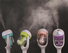 Argentina Nanum humidificador de coche purificador de aire difusor humidificadores del coche de limpieza de aire mini carga portátil botella de agua humidificador de vapor G052 Suministro