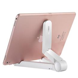 Soporte de escritorio plegable online-JOYROOM Soporte para teléfono móvil Soporte de 360 grados Girar Plegable Tablet PC de escritorio Soporte de soporte perezoso para Apple iPhone Samsung