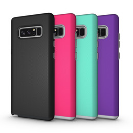Wholesale Galaxy Heavy Duty Armor - For Samsung Note 8 Case Rugged Anti-skid Armor Hard Heavy Duty TPU Protection Phone Case Cover for Samsung Galaxy Note 8