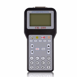 Jetons pour programmeur clé en Ligne-Vente chaude CK-200 CK200 Auto Key Programmer Aucun jeton Limitation Plus récent génération Version mise à jour de CK-100 dhl livraison gratuite
