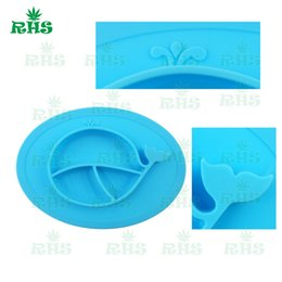 Wholesale Wholesale Dinner Place Mats - Food-Grade Baby Silicone Suction Place Mat Food Mat Dining Table Placemats Waterproof baby Dinner Plates ChristmasS-03
