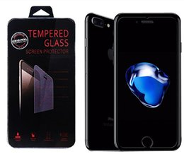 Wholesale Treat Box Wholesale - DHL Tempered Glass Screen Protector 0.25mm 9H Treated Iphone6 6s 4.7'' 5.5'' for iPhone 7 Samsung S6 S7 S8 edge NOTE 4 with Retail box