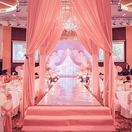 Wholesale Mirrors For Favors - Mirror carpet 1m Wide Shine Silver Mirror Carpet Aisle Runner For Romantic Wedding Favors Party Decoration Free Shipping WT057