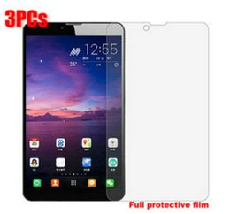 "Wholesale prestigio multipad tablet - Wholesale-3pcs lot Screen Guard 7"" PRESTIGIO MultiPad WIZE 3047 3G PMT3047 Tablet Original Clear Full Screen Protector Film Free Ship"