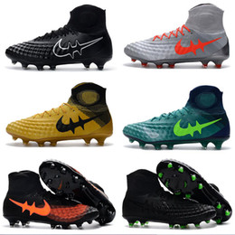 Wholesale Matches Waterproof Outdoor - Magista obra II FG Soccer Shoes ,2017 Magista 3D preparation surface ACC waterproof matching FG Outdoor Football Boots football shoes 39-45