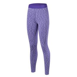 Wholesale Yoga Pants Xs - Wholesale- 2017 Women Stretchy Elastic Slim Yoga Long Pants Tight Compression Sport Trouser Base Layer Bottom