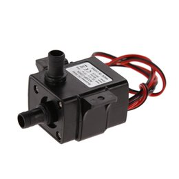 Wholesale 12v dc mini pump - 12V DC Brushless Water Pump Ultra-quiet 3M 240L H Brushless Submersible Water Pump Mini Electric Submersible Waterpump