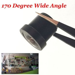 Wholesale Ir Board Lens - CCTV 1.8mm Security Lens 170 Degree Wide Angle CCTV fish eye Lens For IR Board CCTV HD Camera M12x0.5