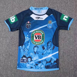 Wholesale Top quality NSW Blues State Of Origin jerseys home away New South Wales Blues rugby jerseys CAPTAINS HOLDEN