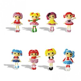 Wholesale Wholesale Magnets For Refrigerator - Lalaloopsy Cartoon PVC Blackboard Magnetic Stick Refrigerator Magnets Lovely Blackboard Magnets For Kids Gifts