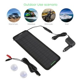 Wholesale Solar Panels For Rv - Wholesale- 18V 4.5W Multi-Purpose Portable Solar Panel Battery Charger for Car RV Car Battery hot selling