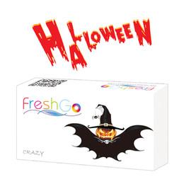 Wholesale Box Set Wholesale - Freshgo Halloween Contact Lens Package Box Color Contact Lens Case