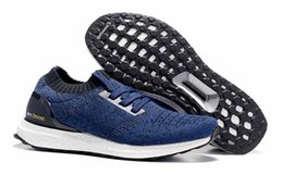Wholesale Men Barefoot Running Shoes - Free Shipping!New Ultra Boost Uncaged Running Shoes Men Top sports shoes Outdoor Barefoot Sneakers
