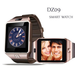 Wholesale Outlet Goods - DZ09 Smart Watch Factory Outlet : 40 pcs 1.56 inch Latest SmartWatches DZ09 Support SIM Card TF card For cellphone With good battery