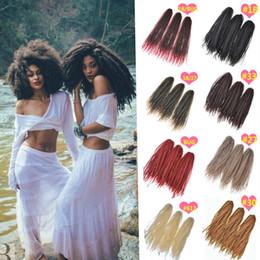 Wholesale Afro Kinky Hair Bulk - Crochet Marley Braids Hair Extensions Afro Kinky Ombre Jumbo Braiding Hair colors Senegalese Curly Marley Twist Bulk