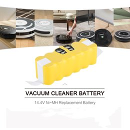 Wholesale Roomba Vacuum Cleaners - Battery For iRobot Roomba Replacement Battery for iRobot Roomba 500 600 700 Series Vacuum Cleaner 545 552 562 580 581 582 585 595