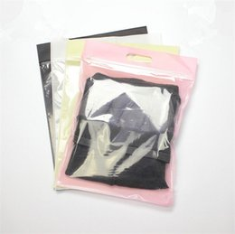 Wholesale Plastic Weave Bag - 35*27CM Packaging Plastic and Non-woven Bag for clothes, t shirt