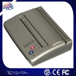 Wholesale Lowest Price Thermals - Wholesale- HOT Sell Factory Outlet lowest price silver High quality Professional Tattoo copier thermal stencil copy Transfer Machine Hot