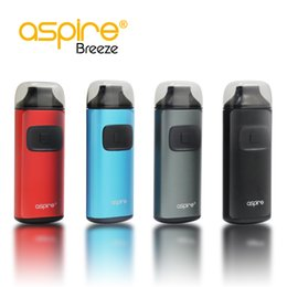 Wholesale Cheap Prices Electronics - Cheap price aspire breeze kit with 0.6 ohm aspire breeze coils 2ml capacity all-in-one auto-fire electronic cigarettes 100% Genuine