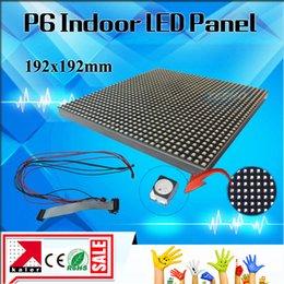Wholesale Plastic Panels - Indoor Full Color SMD P6 LED Display Screen Module P6 Indoor SMD  RGB 192*192 mm LED display Module  panel  led module