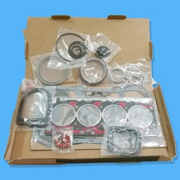 Wholesale Gaskets Kit - Komatsu Excavator PC128US-1 PC128UU-1 Engine Gasket kit Overhaul Service Kit S4D102 S4D102E Cylinder Head Gasket Kit Full Set 6731-21-1220