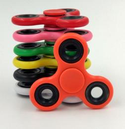 Weitere Farben ABS Metall Tri-Spinner Zappeln Spielzeug Kunststoff EDC Hand Spinner Für Autismus und ADHS Angst Stressabbau Fokus Spielzeug Kinder Geschenk von Fabrikanten