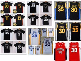 Wholesale Best Basketball Shirts - Wholesale 35 Kevin Durant Shirt Uniform 9 Andre Iguodala 11 Klay Thompson Jersey 23 Draymond Green Chinese Throwback Christmas Best Quality