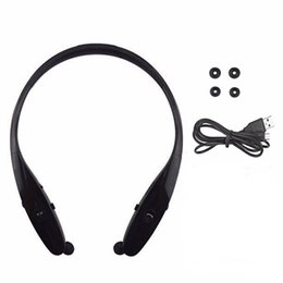 Wholesale headband hard - HBS900 Neckband Noise Cancelling Headband Headphone Wireless Bluetooth Stereo Headsets For Smartphone Universal Hard Box Without Logo