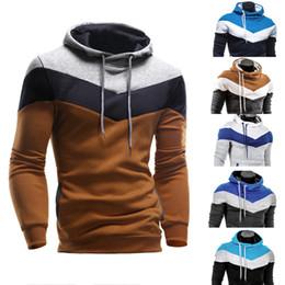 Wholesale Korean Hoodie Slim Fit - Wholesale- 2016 New Fashion Men Leisure Hoodies High Quality Korean Slim Fit Sweatshirt Mens Fashion Brand Pullover Sportswear Tracksuits