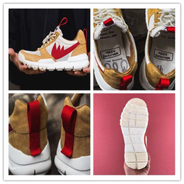 Wholesale Casual Craft - (With Box) High Quality Tom Sachs x Craft Mars Yard 2.0 TS NASA Running Shoes Natural Sport Red Shoe Men Women Zapatillas Vintage Casual
