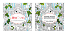 Newest Secret Garden Adult English Decompression Hand Painted Color In Coloring Book Enchanted Forest Children