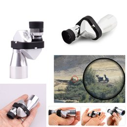 Wholesale Optical Monocular Mini - Outdoor Hiking Climbing Wilderness Expedition Mini Pocket 8x20 HD Corner Optical Monocular Telescope Eyepiece New 2507008 free DHL