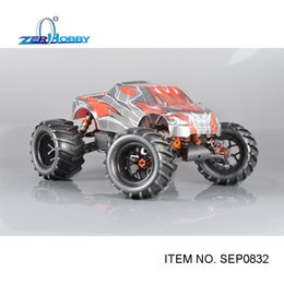 Wholesale Truck Electric Power 4wd - Wholesale- rc car toys hsp 1 8 monster truck 4wd off road electric powered rc car brushless 2000kv motor similar himoto (item no. SEP0832)
