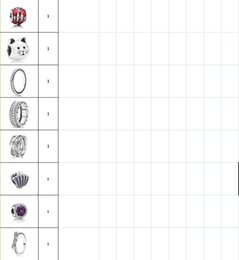 Wholesale Sterling Silver Charms Round - Genuine S925 Sterling Silver Beads Charm For European Brand Bracelets
