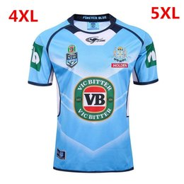 Wholesale 2017 NSW Blues State Of Origin jerseys home away New South Wales Blues rugby jerseys men euro Extra large size S XL XL