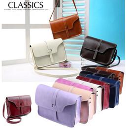 Wholesale Satchel Hobo Bags - Women's Handbag Shoulder Bag Messenger Hobo Satchel Purse Tote Candy Color mini Women Shoulder Phone Bag Purse KKA2363