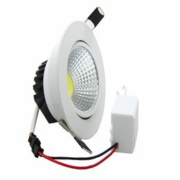 Wholesale Super Bright Ceiling Light - The new Super Bright LED Dimmable Downlight COB 9W led recessed ceiling spot light LED decoration Ceiling Lamp AC110-220V SAA
