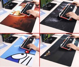 Wholesale Silicone Computer Mouse Pad - Wholesale-High Quality Original New Super Large 800*300*3MM Mouse Pads Anti-Skid Keyboard,Laptop Computer,Mac Gaming Mouse Pads